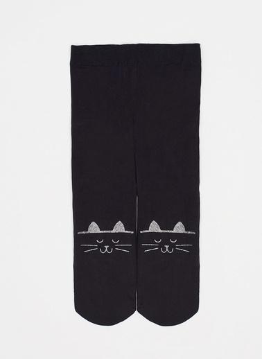 Katia & Bony Cats Bebek Külotlu Çorap  Siyah